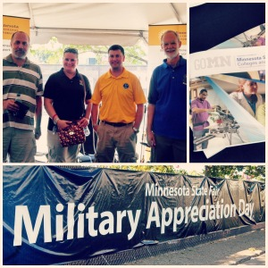 Military Appreciation Day at the MN State Fair